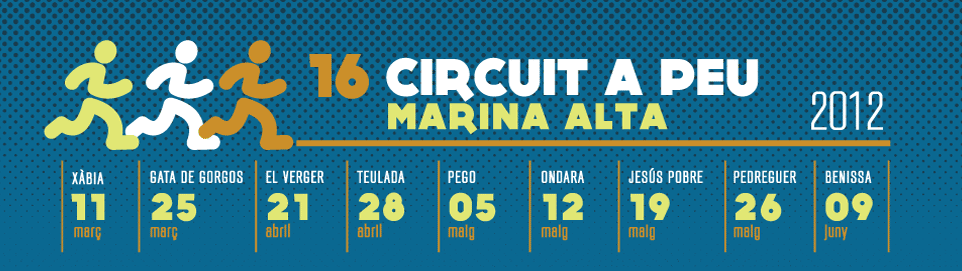 Circuit a peu Marina Alta 2011
