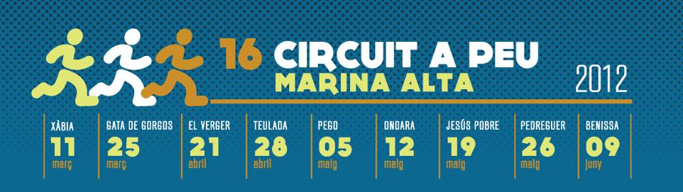 Circuit a peu Marina Alta 2011