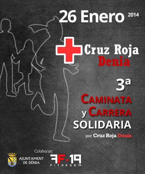 3ª Carrera y Caminata Solidaria por Cruz Roja Denia