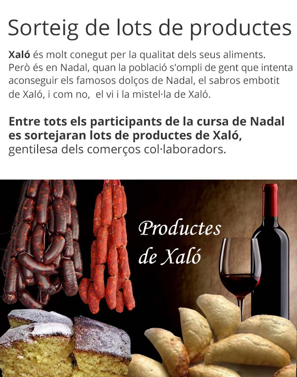 Productes de Xaló