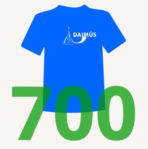 Samarreta pels 600 primers