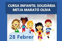 Cursa Infantil Quarta i Mitja Marató Ciutat d'Oliva