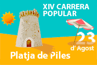 XIV Carrera Popular a la Platja de Piles