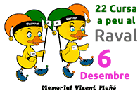 Cursa a peu al Raval - Memorial Vicent Ma��