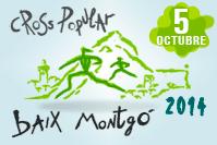 22è Cross Baix Montgó 2013. Corre envoltat de Natura