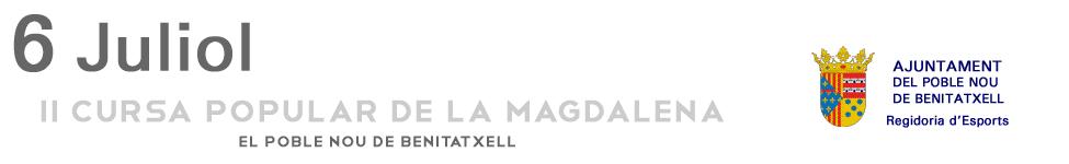 II Cursa Popular de la Magdalena