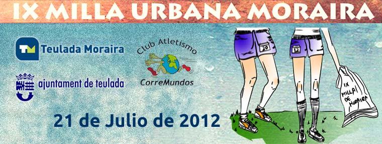 IX Milla Urbana Moraira 2012