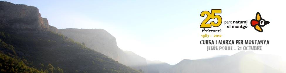 Cursa i Marxa per Muntanya 25 aniversari Parc Natural del Montgó